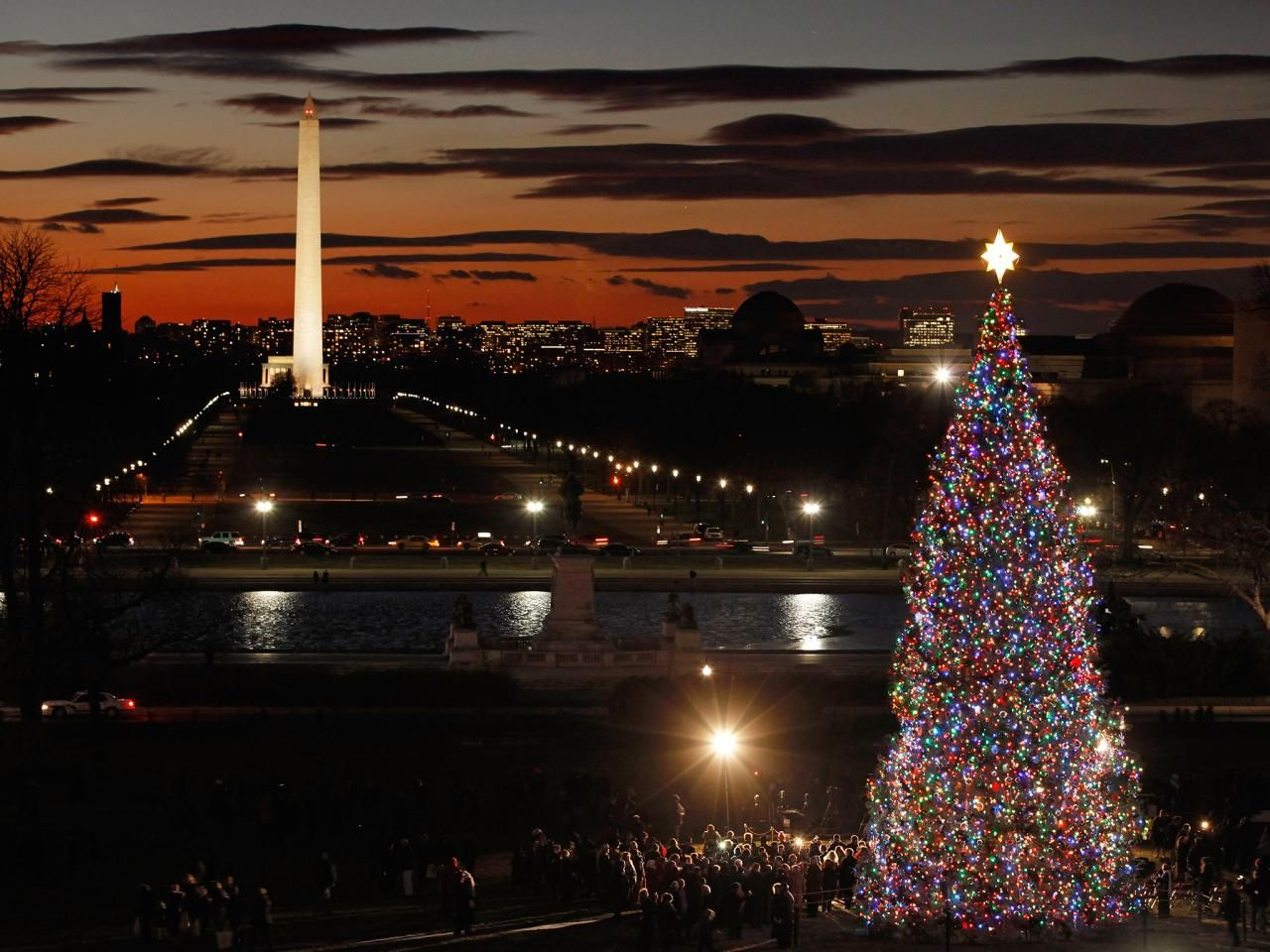 District Of Columbia America S Most Dazzling See Your State S Wildest Holiday Light Display Holiday Lights Display Amazing Christmas Trees Holiday Lights
