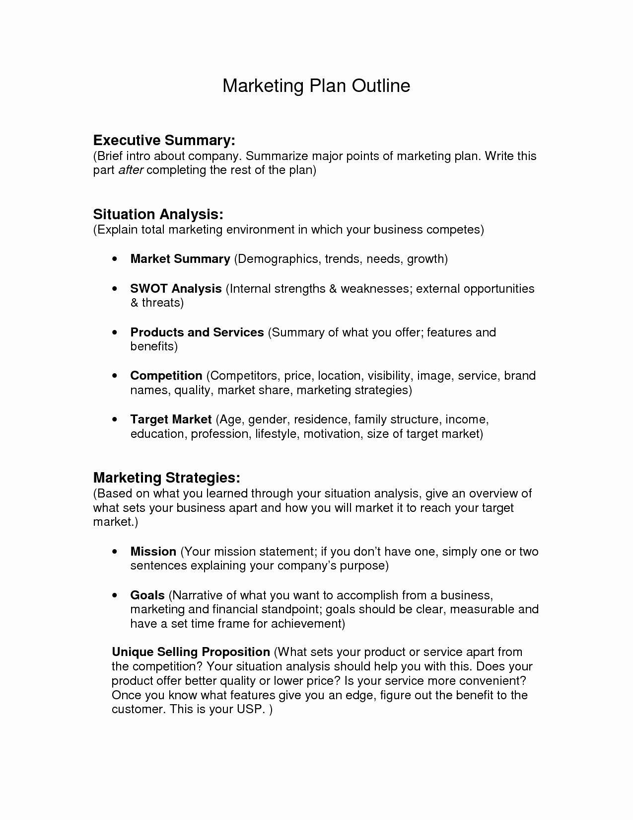 Word Executive Summary Template Best Of Executive Summary