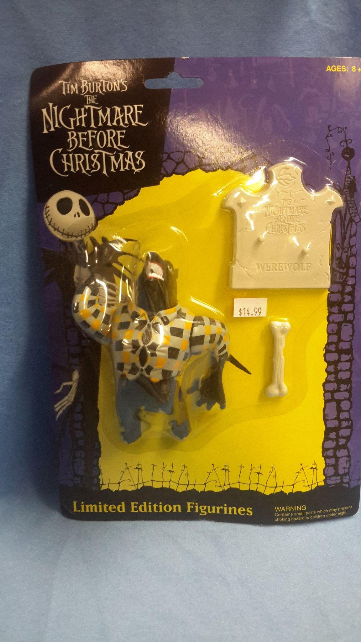 Nightmare Before Christmas - Werewolf * Tim Burton * NECA * NBX *