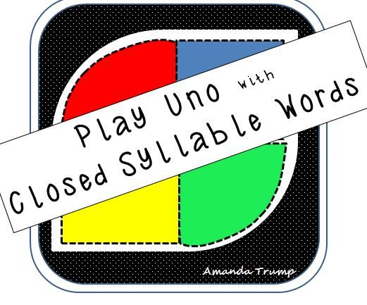 Premise Indicator Words: This Game Gives Student Exposure To Closed Syllable Words