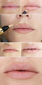 Photo of lips highlighting trick #Fast #Lips #lips fillers #lips kiss #lips natural #lips…
