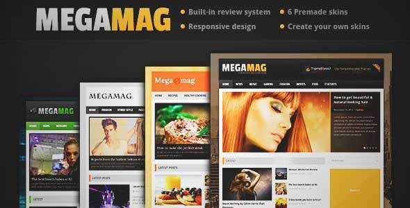 Download and review of MEGAMAG - A Responsive Blog/Magazine Style Theme, one of the best Themeforest Magazine & Blogs themes {Download & review at|Review and download at} {|-> }http://best-wordpress-theme.net/megamag-a-responsive-magazine-style-download-review/