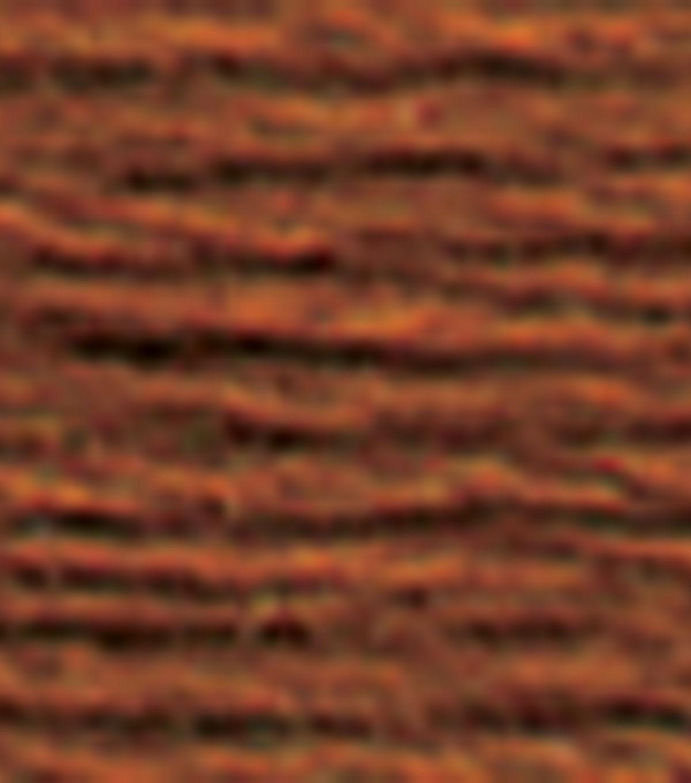 DMC Cotton Embroidery Floss Browns 8.7 Yds - 12pk - 975 Dark Golden Brown