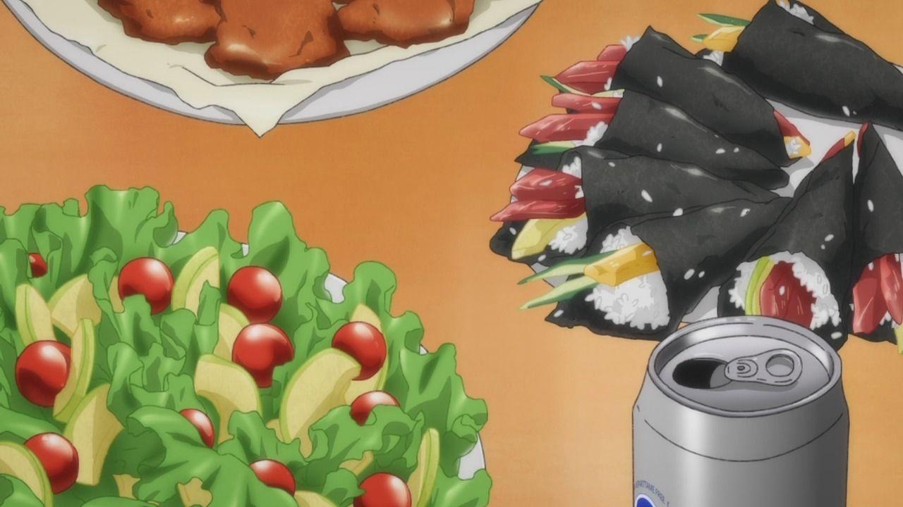 Banana Fish Episode 17 Food Illustrations Food Food Art