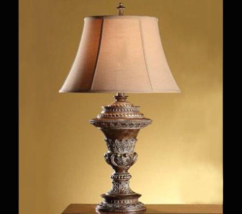 Regency Baroque Table Lamp Renaissance Bronze Finish 35 Bell Shaped Light Table Lamp Lamp Table Lamp Lighting