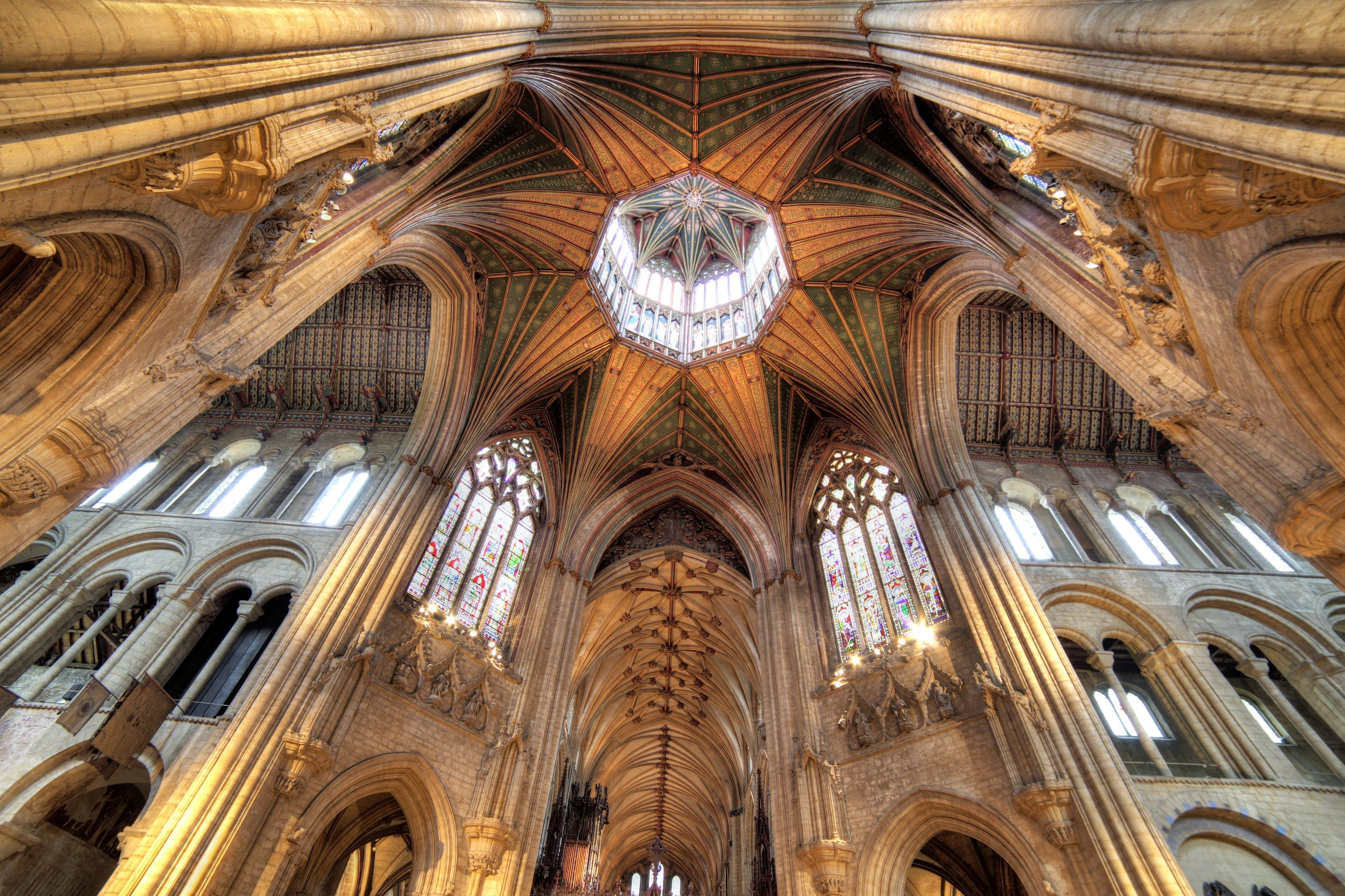 Ely Cathedral in Cambridgeshire, England.Most Beautiful Church Ceilings Photos   Architectural Digest