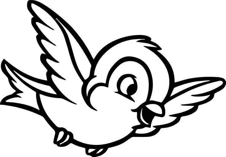 Cute Bird Coloring Pages Kids Learning Activity Bird Coloring Pages Animal Coloring Pages Coloring Pages Winter