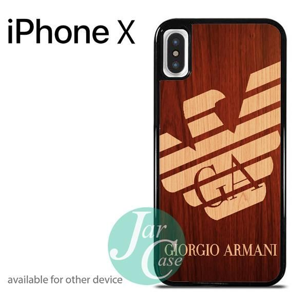 newest collection c7368 e216a giorgio armani wood Phone case for iPhone X | awesome case | Phone ...