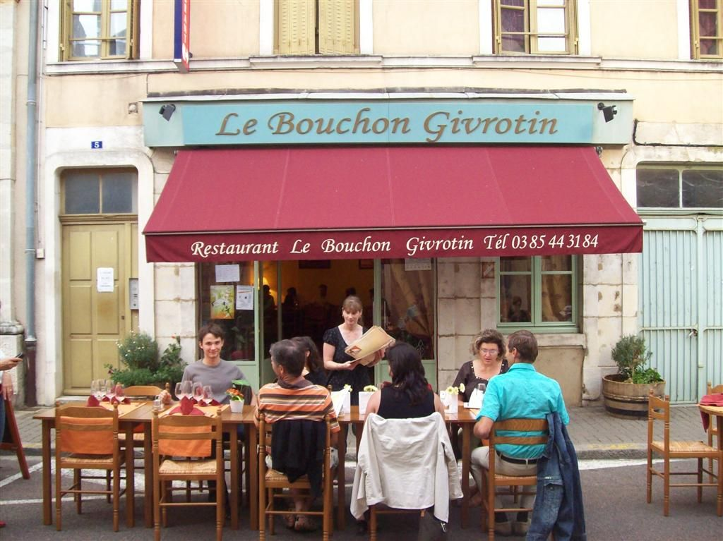 Restaurant Le Bouchon Givrotin Givry France