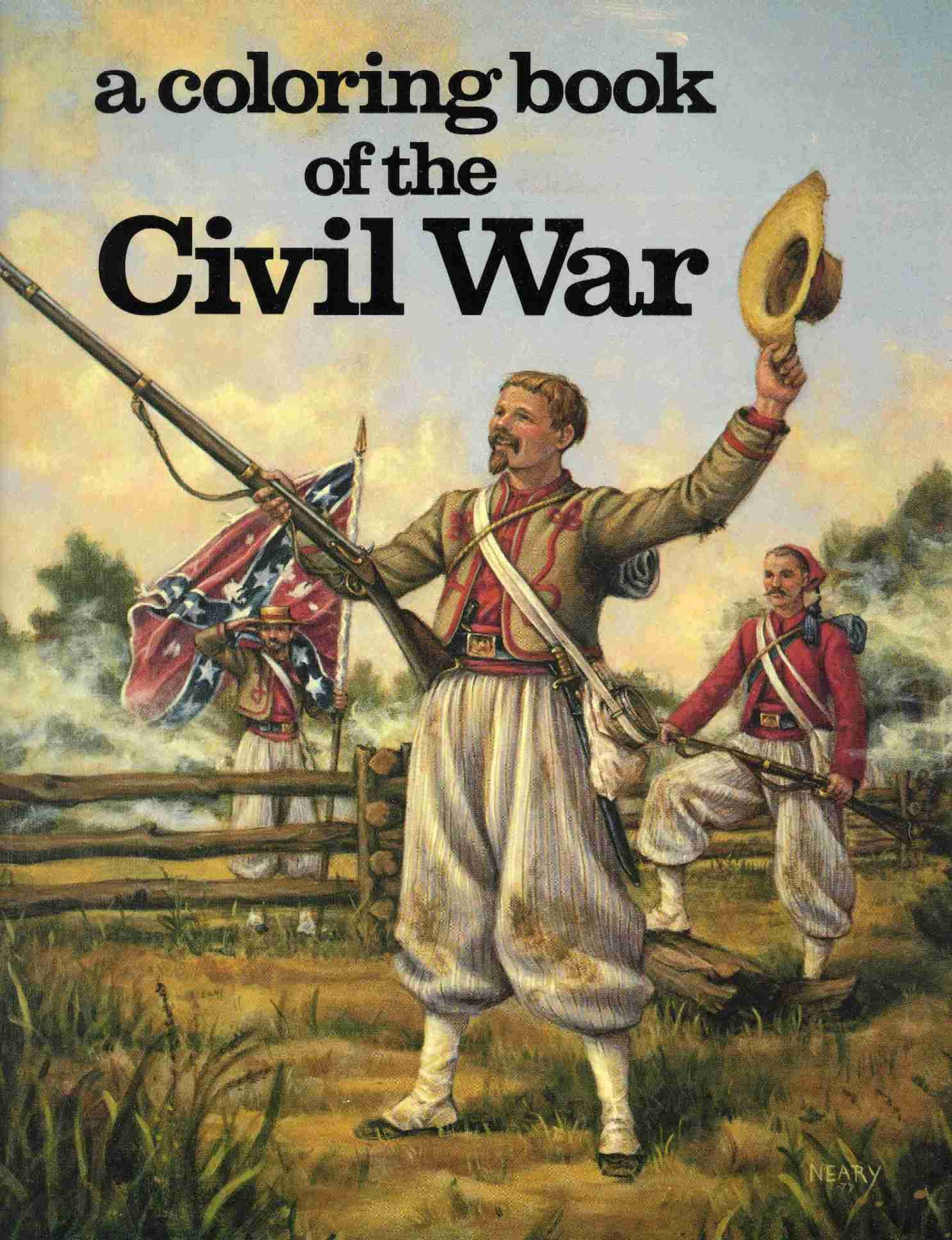 Civil War Battles Kids Coloring Pages Free Colouring Pictures of ...