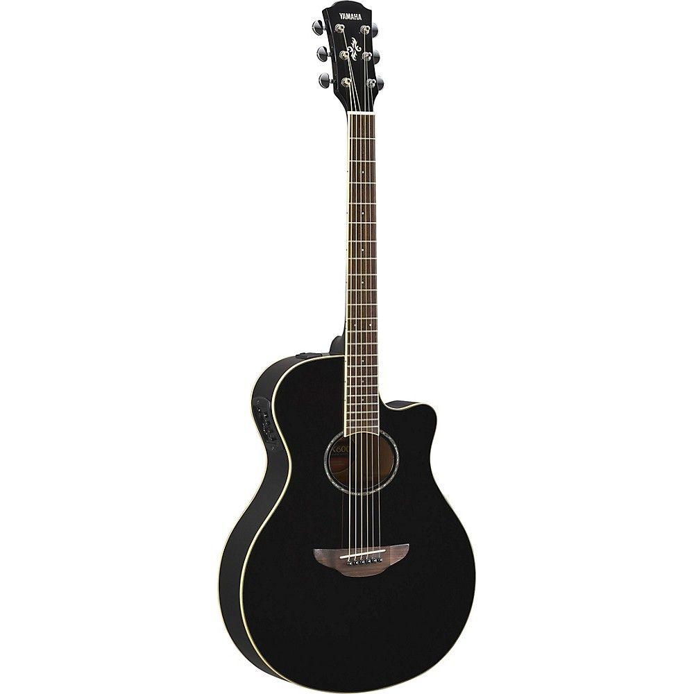 Yamaha Apx600 Acoustic Electric Guitar Acoustic Electric Guitar Black Acoustic Guitar Acoustic Electric