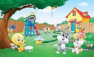 Gigante De Los Ninos Pared Murales Foto Wallpaper Dibujos Animados Looney Tunes Baby Personajes Looney Tunes Imagenes De Dibujos Animados Dibujos