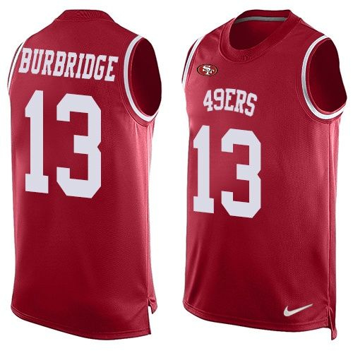 huge selection of 1b82a 8404a Men's Nike San Francisco 49ers #13 Aaron Burbridge Limited ...