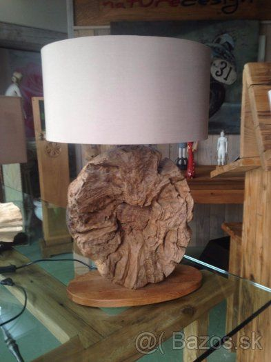 lampy z vyplaveneho dreva - 1