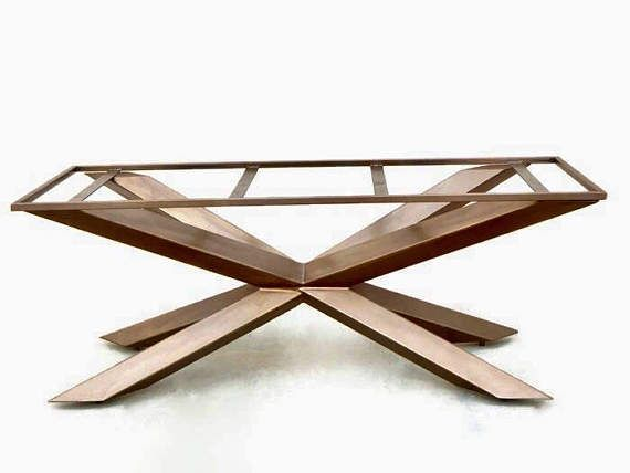 Metal Table Base Dining Room Table Bespoke Table Base Etsy