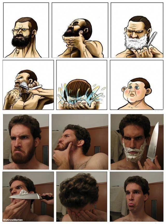 Картинках, приколы борода картинки