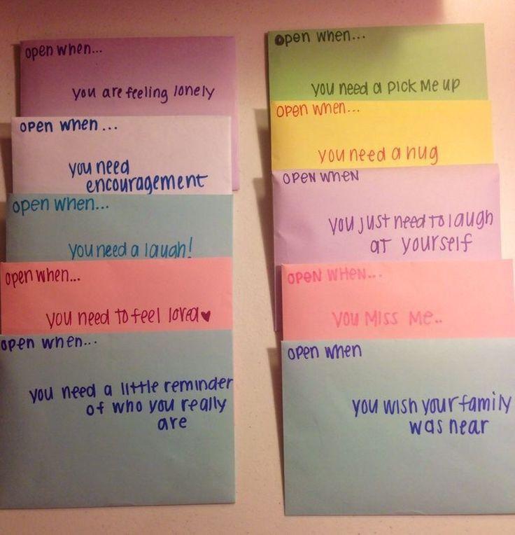 The  Best Open When Letters For Best Friend Ideas Ideas On
