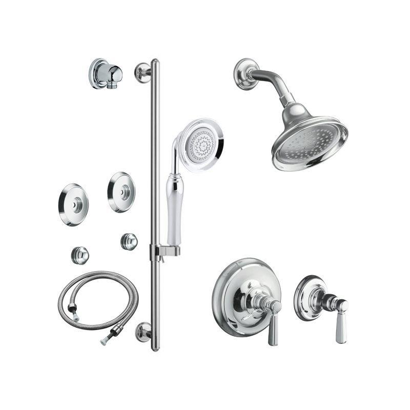 Kohler K Bancroft Shwr Bndl Hs Kohler Bancroft Bathroom Shower