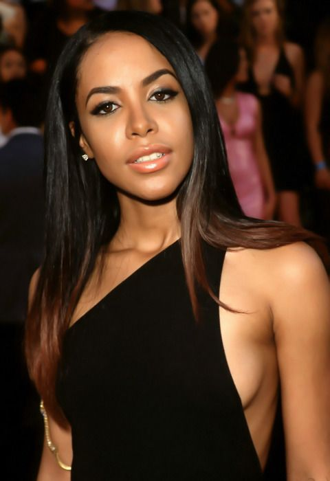 Aaliyah At Mtv Movie Awards 2000 Ombre Hair Color Ombre