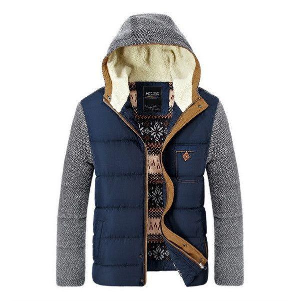 Urban Contrast Hooded Parka Jacket | Jackets | Pinterest | Parkas ...