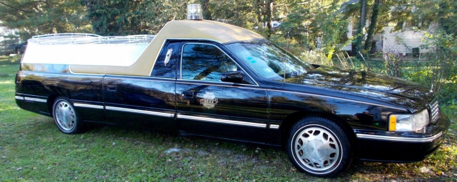 1999 Cadillac Brougham Hearsesflower Cars Pinterest Cadillac