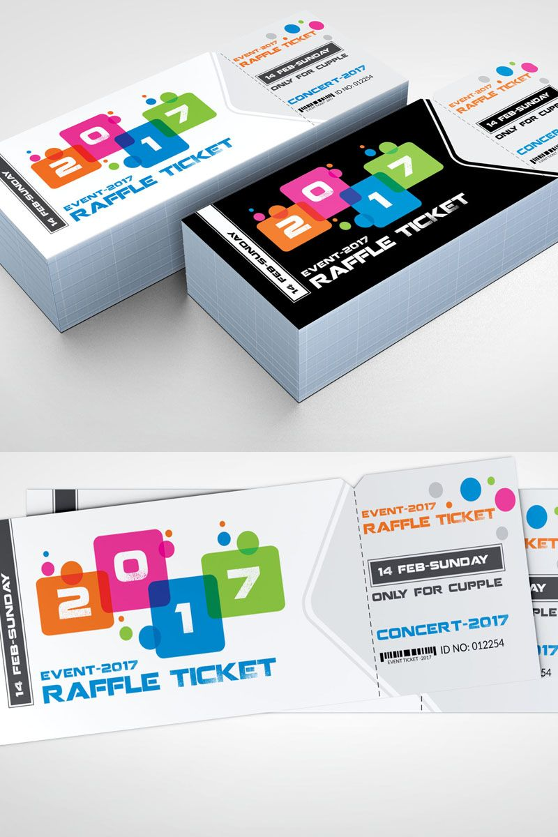New Year Ticket Corporate Identity Template Corporate Identity Templates Website Template