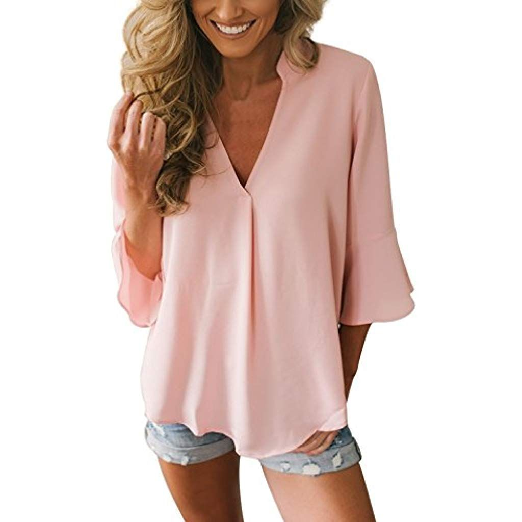 Solid Color Long Sleeve Shirt T-Shirt Women Casual Long Sleeve Lace Patchwork Tops Blouse Sweaters Loose Duseedik
