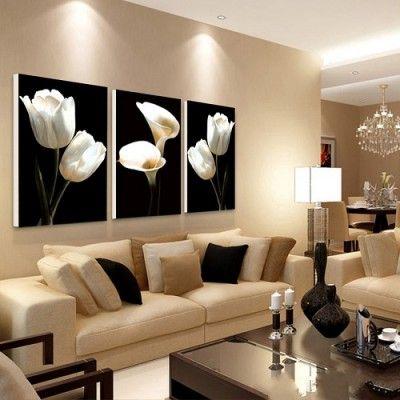 cuadro de sala moderna | PINTURA: OLEO/ACRILICO | Cojines ...