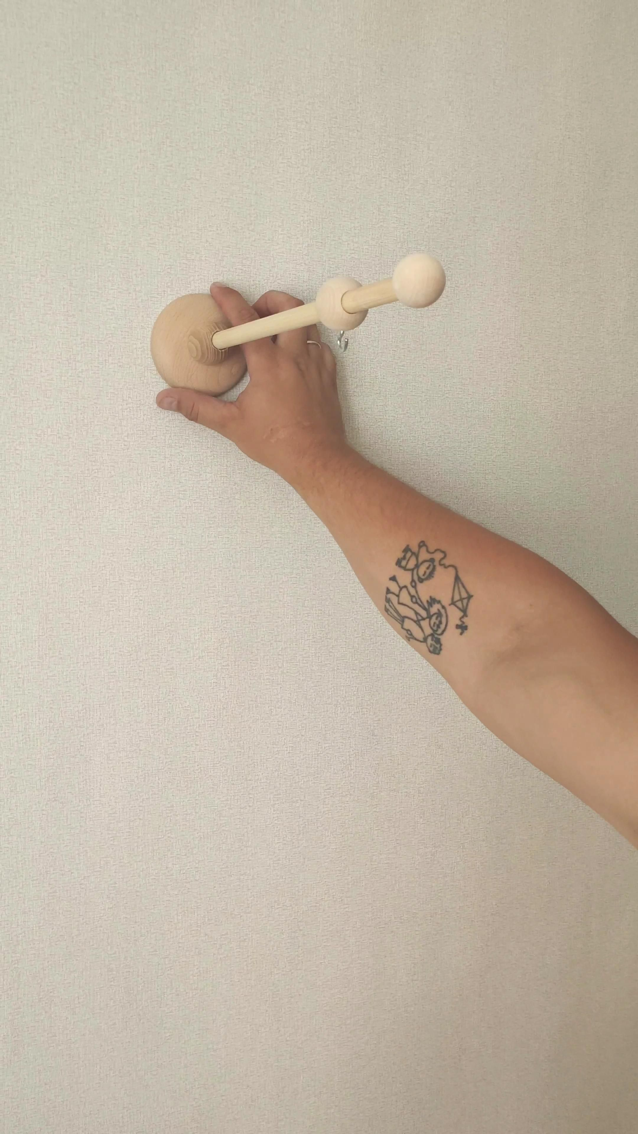 Wall Wood Arm For Baby Mobile With Music Box Wooden Mount For Mobile Hanging Beech And Pine Nursery Mobile Holder Video Video In 2020 Wood Arms Baby Mobile Felt Material