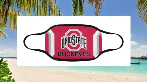 Ohio State Buckeyes Face Mask - Cloth Face Mask Limited Edition - Burgershirt.com