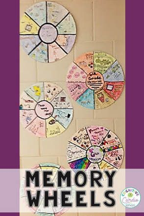 Memory Wheels - First Day, Last Day, and Any Day in Between!