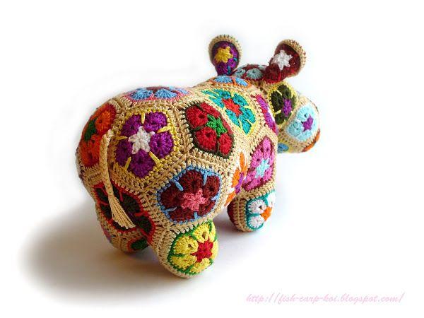 Игрушки из африканского цветка фото