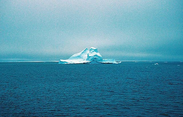 Iceberg, Canadian Arctic by TerryMcT, via Flickr