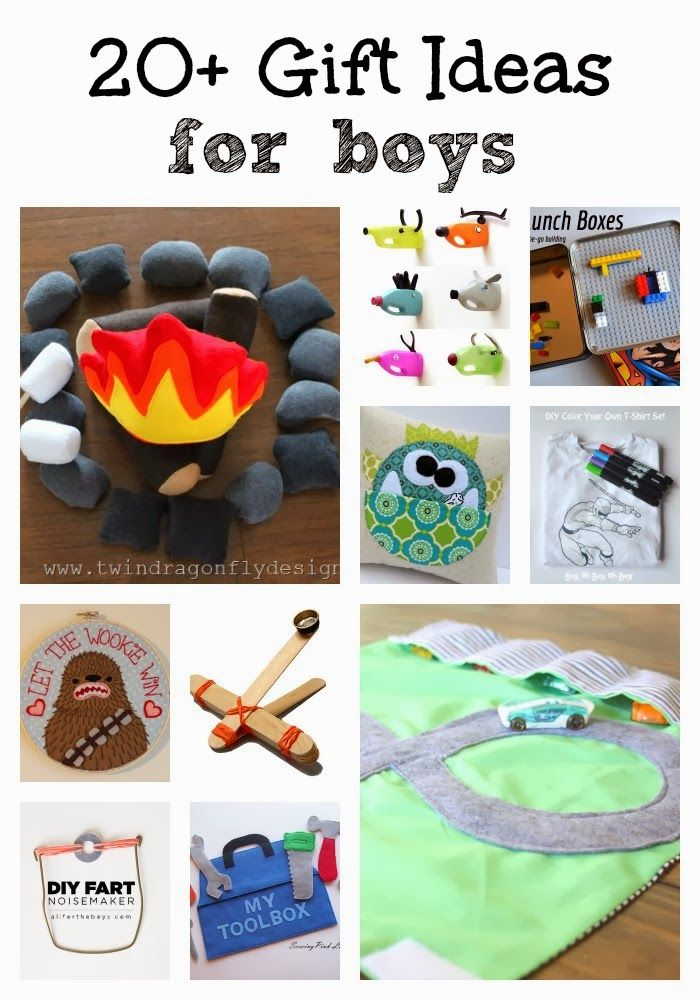 20 diy gift ideas for boys gift craft and christmas gifts for Diy crafts for boys
