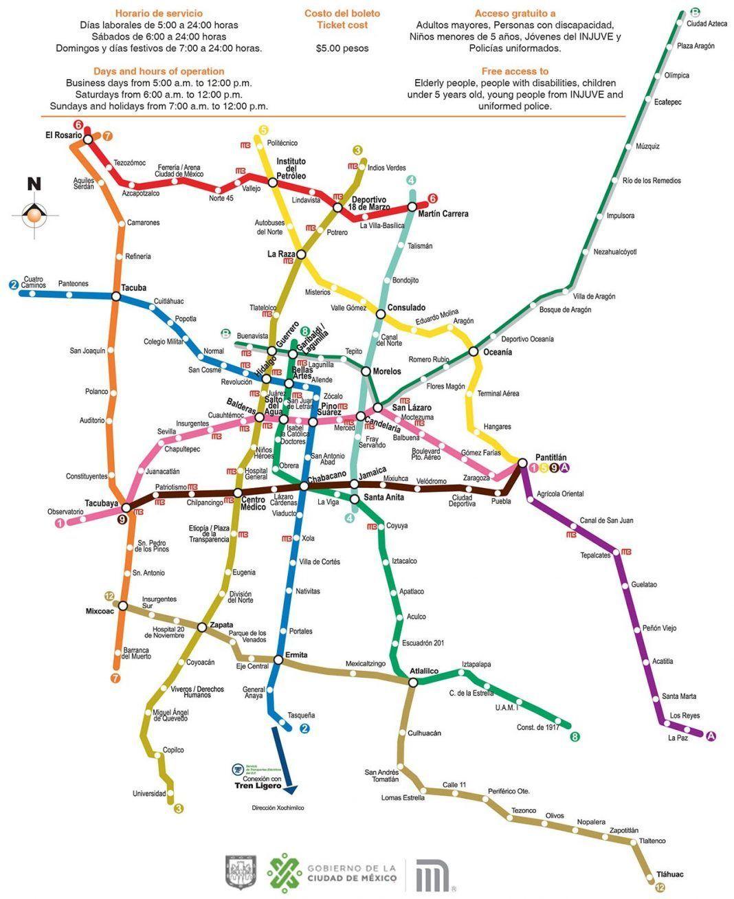 Metro Da Cidade Do Mexico Roteiro Turistico Cidade Da Do