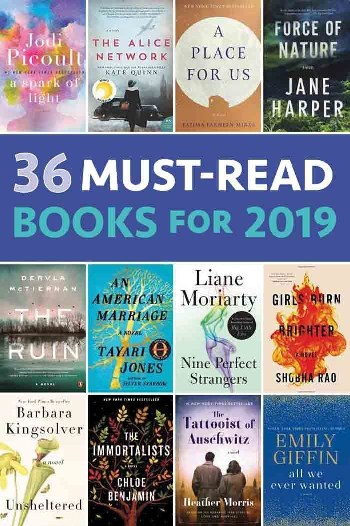 36 Good Books to Read in 2019 - Five Spot Green Living #bookstoread