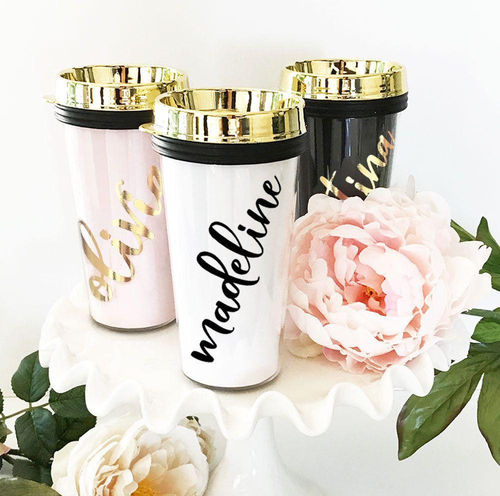 Bridesmaid Coffee Mug Bridesmaid Travel Mug Personalized