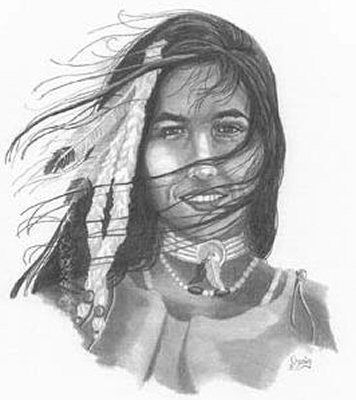 Motorcycle pencil drawings indian maiden pencil sketch by craig cassell a