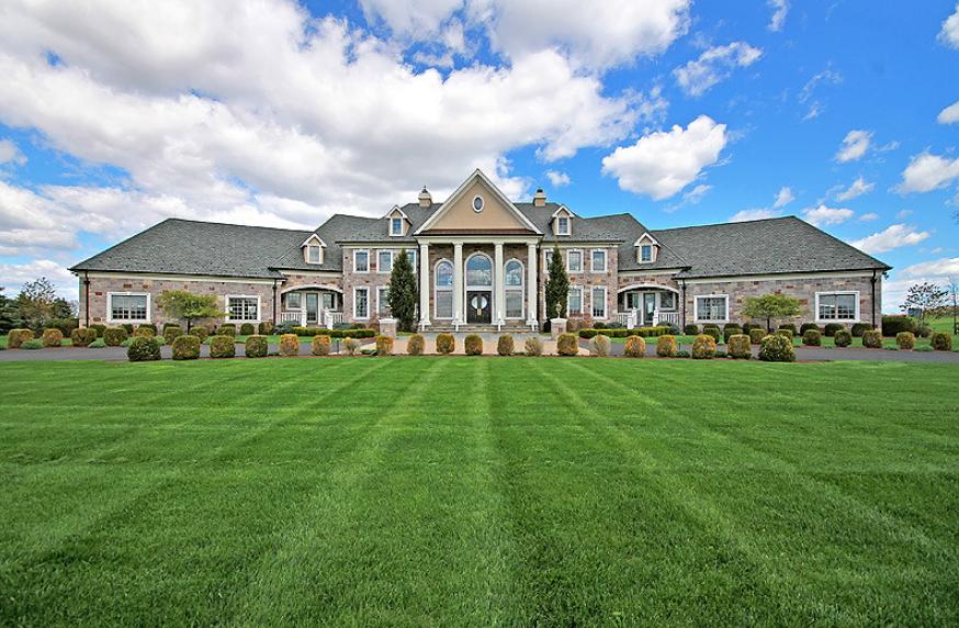 Pleasing 3 2 Million 11 000 Square Foot Mansion Pittstown Nj Download Free Architecture Designs Jebrpmadebymaigaardcom