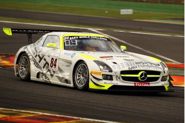 Htp Motorsport Drives Mercedes Sls Amg Gt3 To Spa 24 Hours Victory