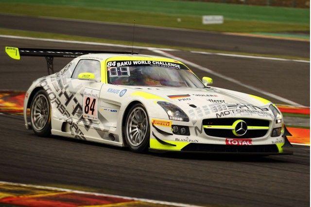 Htp Motorsport S 2013 Mercedes Benz Sls Amg Gt3 Race Car At The Spa 24 Hours Mercedes Benz Sls Mercedes Mercedes Benz