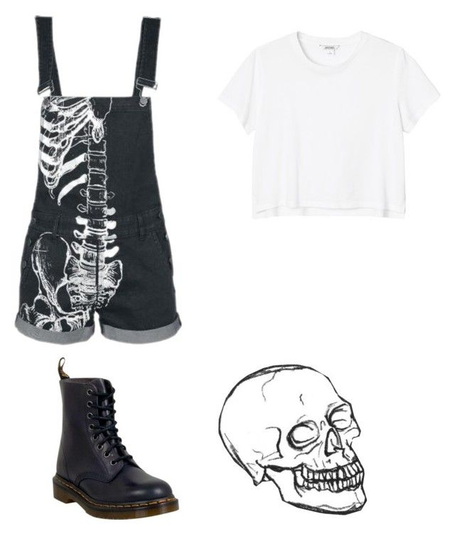 """""""Untitled #132"""" by musicqueen72 ❤ liked on Polyvore featuring Monki and Dr. Martens"""