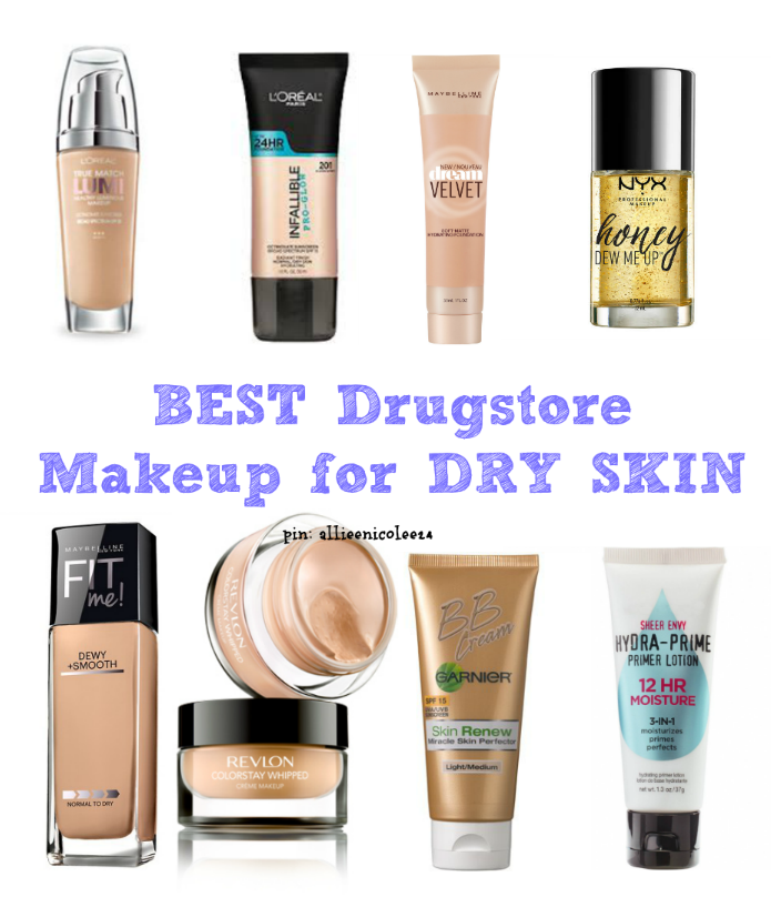 Best Drugstore Makeup For Dry Skin Be Sure To Check Out My Other Makeup Posts Dry Skin Makeup Foundation For Dry Skin Best Drugstore Makeup