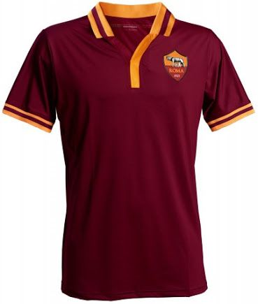 AS Roma 13-14 (2013-14) Home Kit Released | Maglia, Maglie, Maglie ...