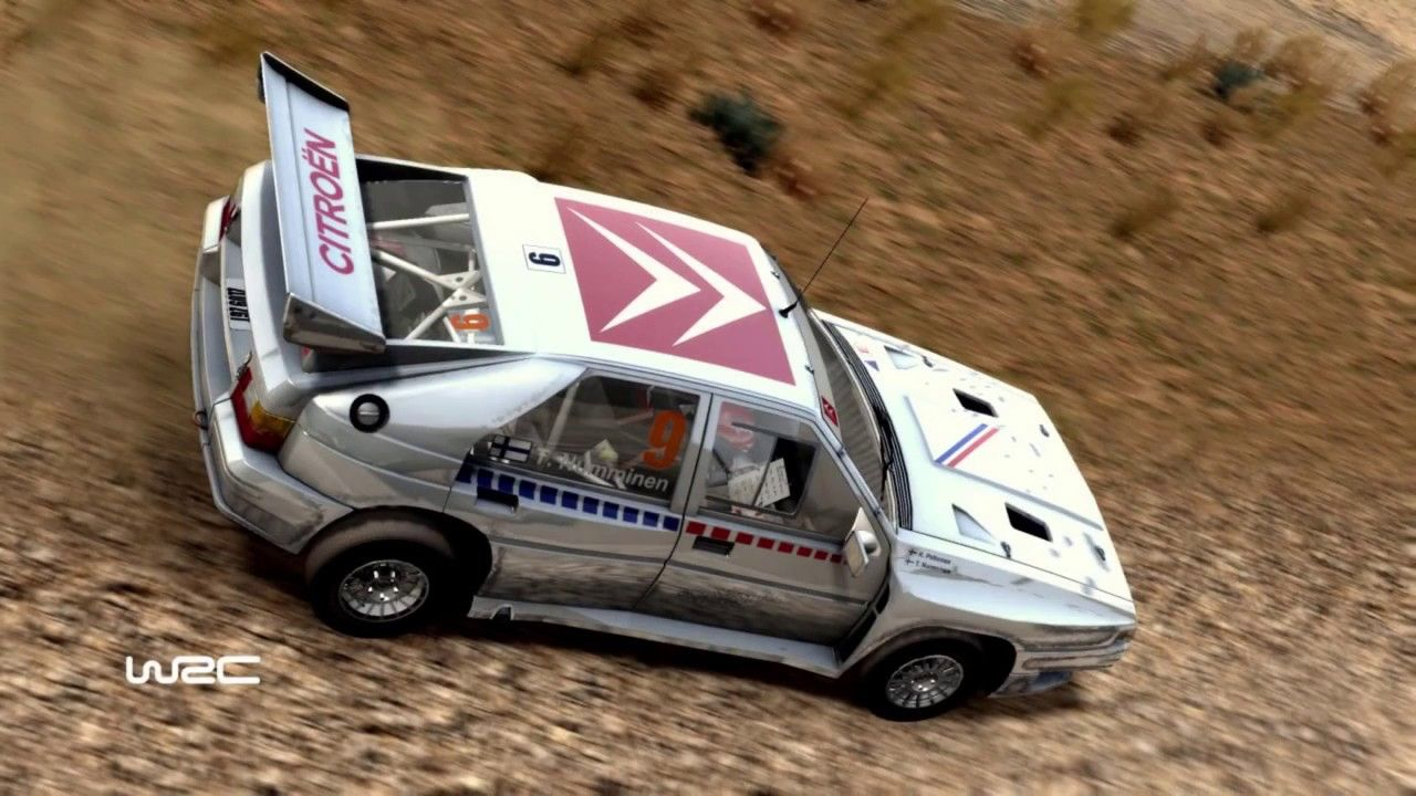 Citroen Bx 4tc Japan Wrc Fia World Rally Championship