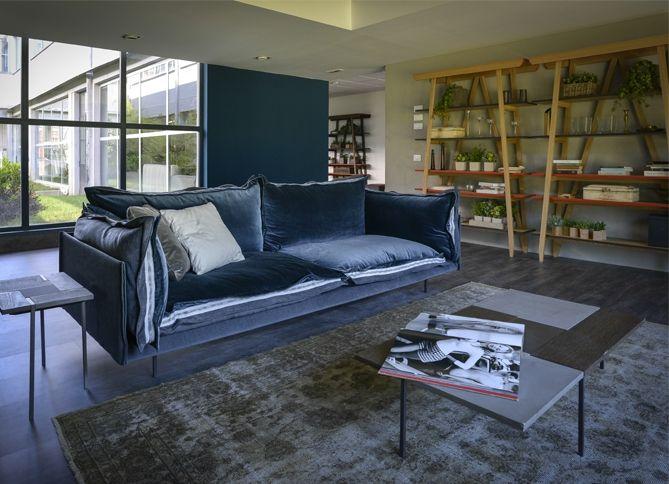 By Arketipo S P A Sofa Furniture Green Velvet Sofa