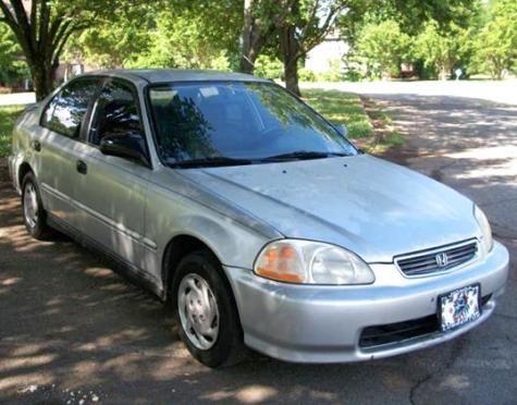 1996 Honda Civic DX Sedan For Under $2000 Dollars In South Carolina