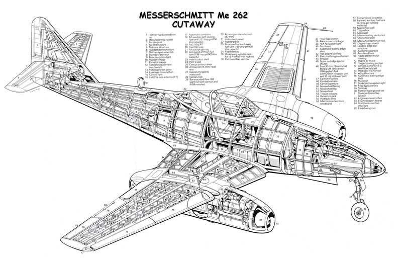 me 262 cockpit coloring pages - photo#33