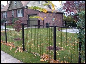Patriot Ornamental Wire Fence Front Yard Fence Fence Design