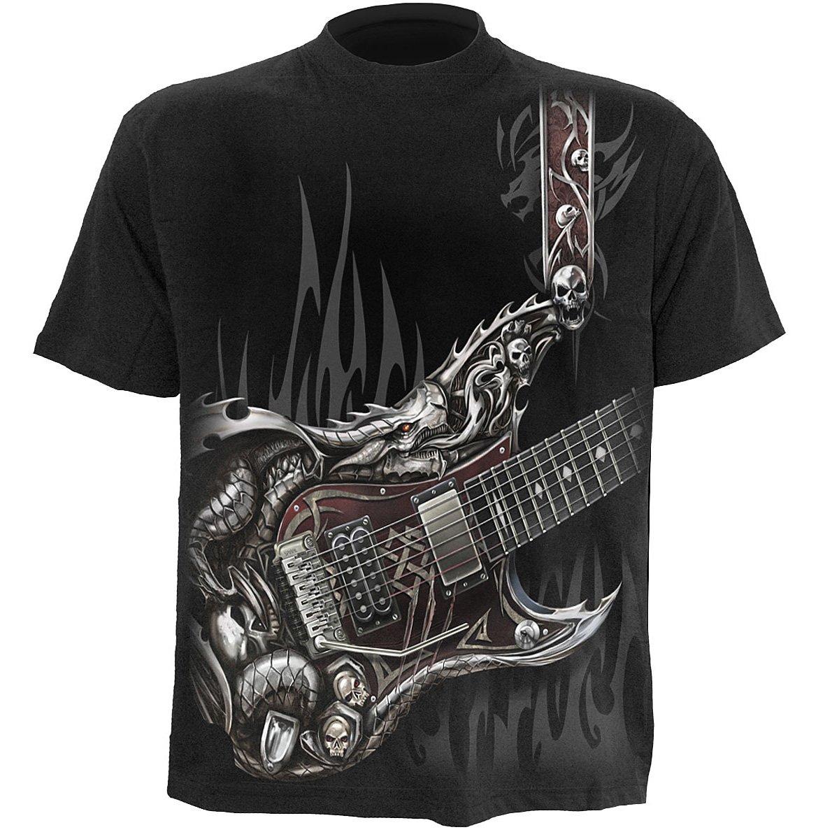 AIR GUITAR TShirt Black Black shirt, Mens tshirts
